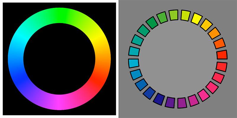 Цветовой круг Освальда.