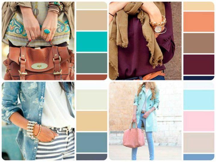 Грамотно составленные цветовые комбинации в гардеробе всегда притягивают взгляд и оставляют чувство гармонии.