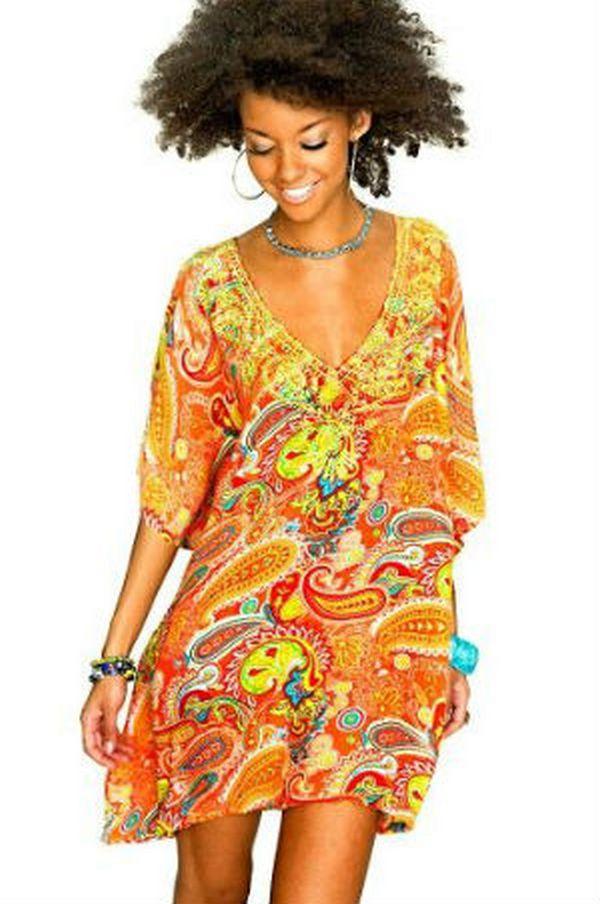 Пейсли – приоритетный принт в одежде этно стиля