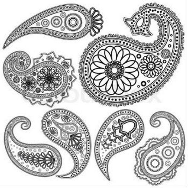 Каждая последующая страна, в которой появлялся орнамент пейсли, связывала его со своими символами плодородия, достатка и изобилия