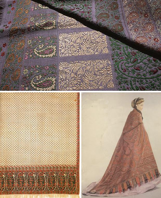 Пейсли – рисунок, который вначале ткали, а потом наносили на ткань печатным способом
