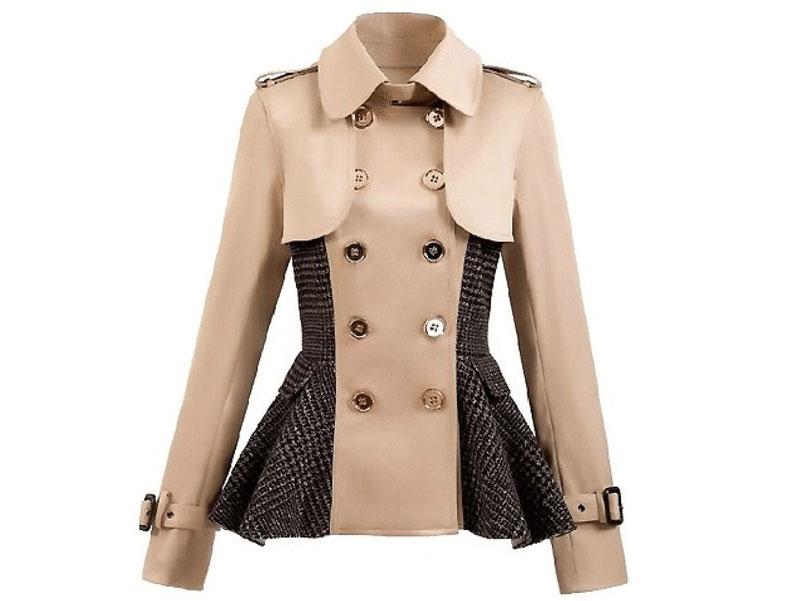 Пеплум - одна из самых женственных моделей пиджака.