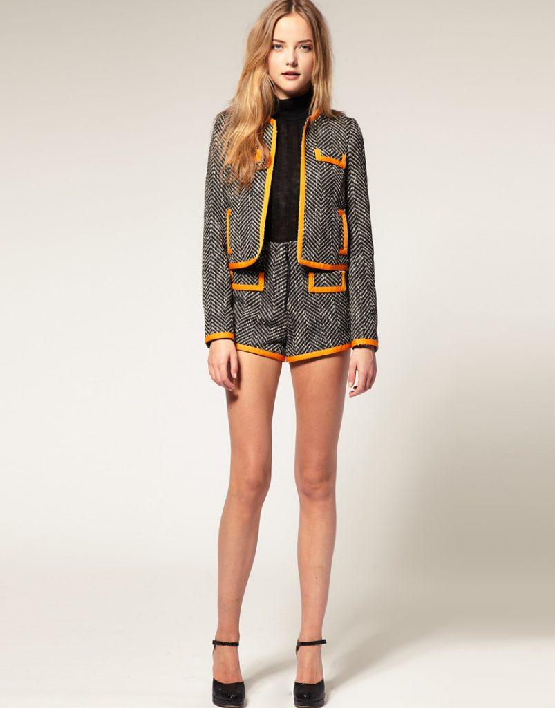 Пиджак с шортами – лучший дуэт для неформальной обстановки