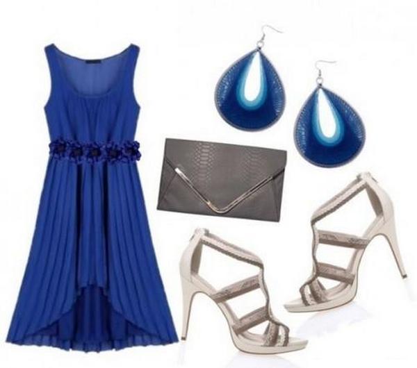 Для тандема с синим  - лучший выбор благородные оттенки серого