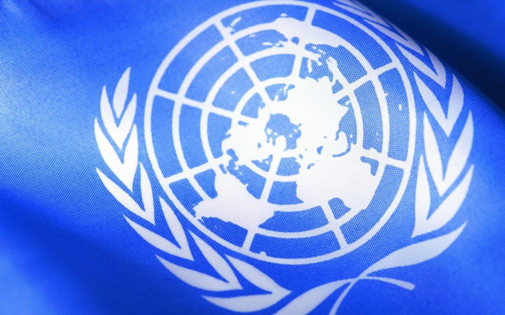 Флаг ООН – синий выступает символом безопасности и защиты высшего уровня