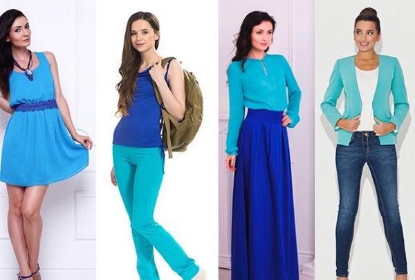 Выразительный молодежный лук – голубой пиджак и темно-синие джинсы-скинни