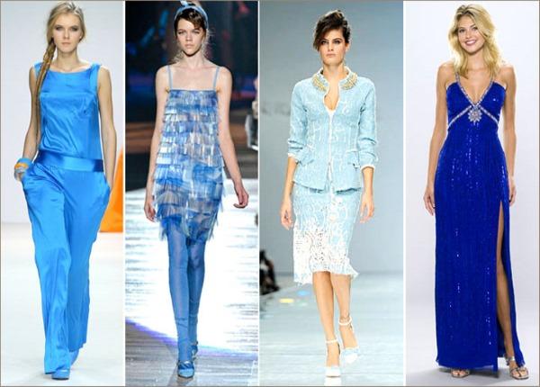 Сочетание других цветов с базовым синим – важное правило формирования гардероба