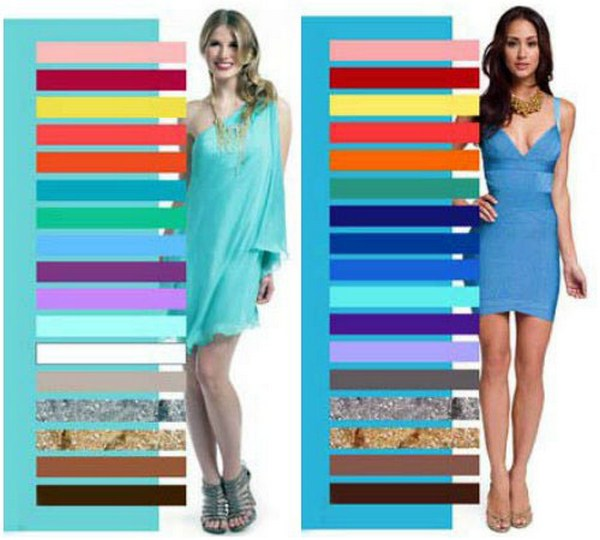 Знание правил комбинирования синего с другими тонами спектра позволит создавать стильные аутфиты
