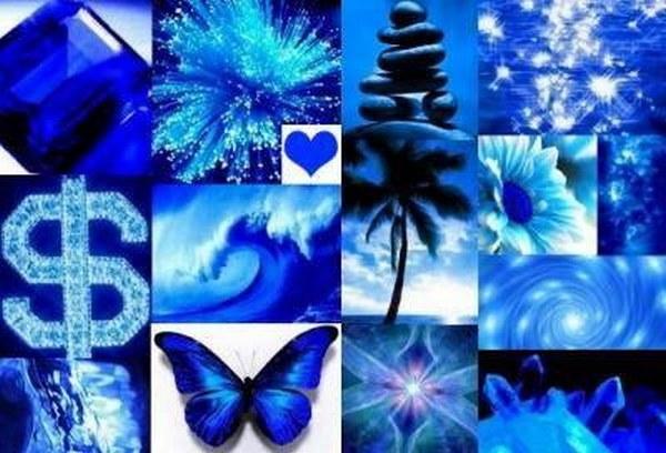 Медитации и творческий поиск – любимые занятия приверженцев синего