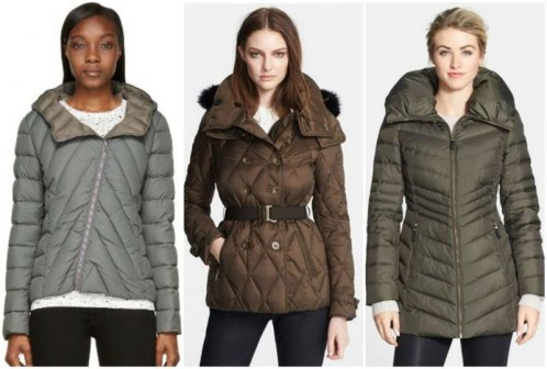 Colmar, Burberry Brit, Marc New York