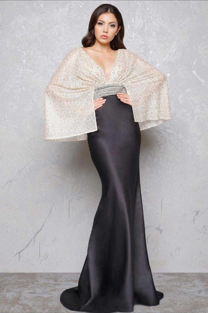 Кимоно – оригинальный фасон вечернего платья в восточном стиле