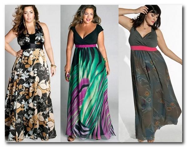 V-образный вырез и завышенная талия – отличный выбор, делающий женщину с «яблочной» фигурой в вечернем платье более стройной