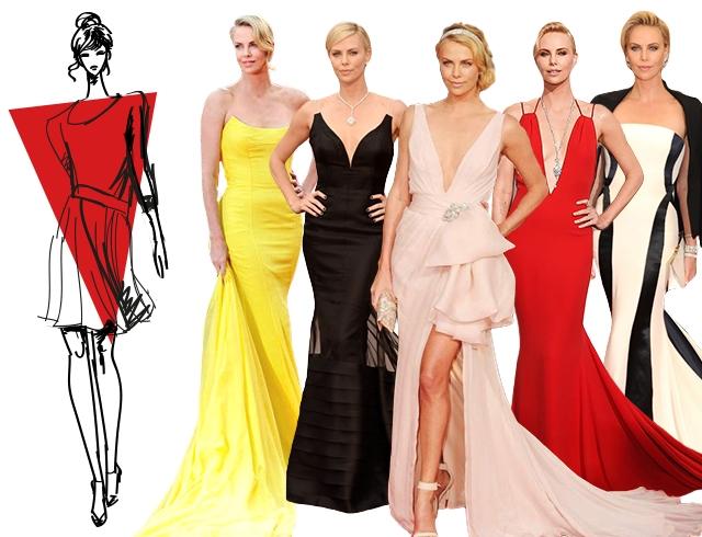 Довольно узкая талия и стройные бедра – основные достоинства фигуры, которые подчеркивает хорошо подобранное вечернее платье