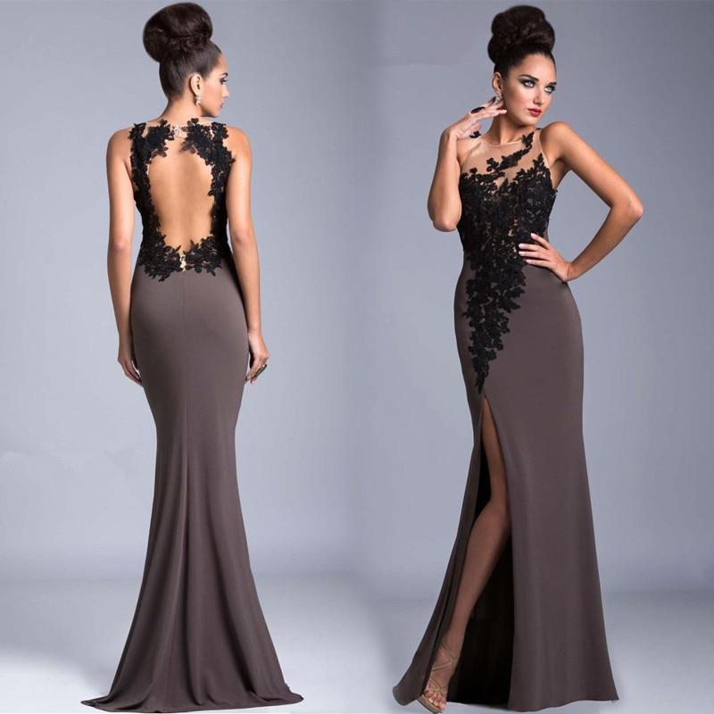 Вечернее платье в пол – самый элегантных и роскошный вариант для праздничных выходов