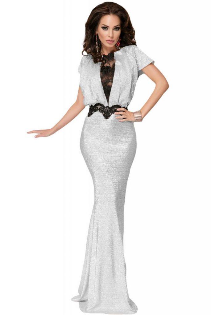 Вечернее платье в пол – непременный атрибут мероприятий с дресс-кодом White tie и Black tie