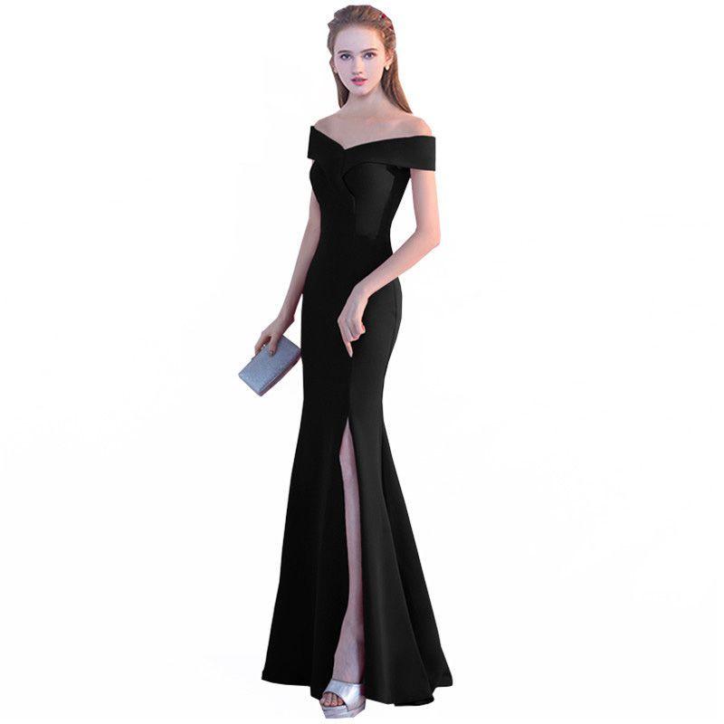 Популярный фасон вечернего платья – рыбка или русалка, подходит для женщин любого возраста с пропорциональной фигурой