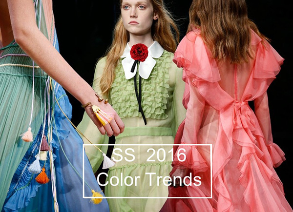 Модные цвета сезона весна-лето 2016