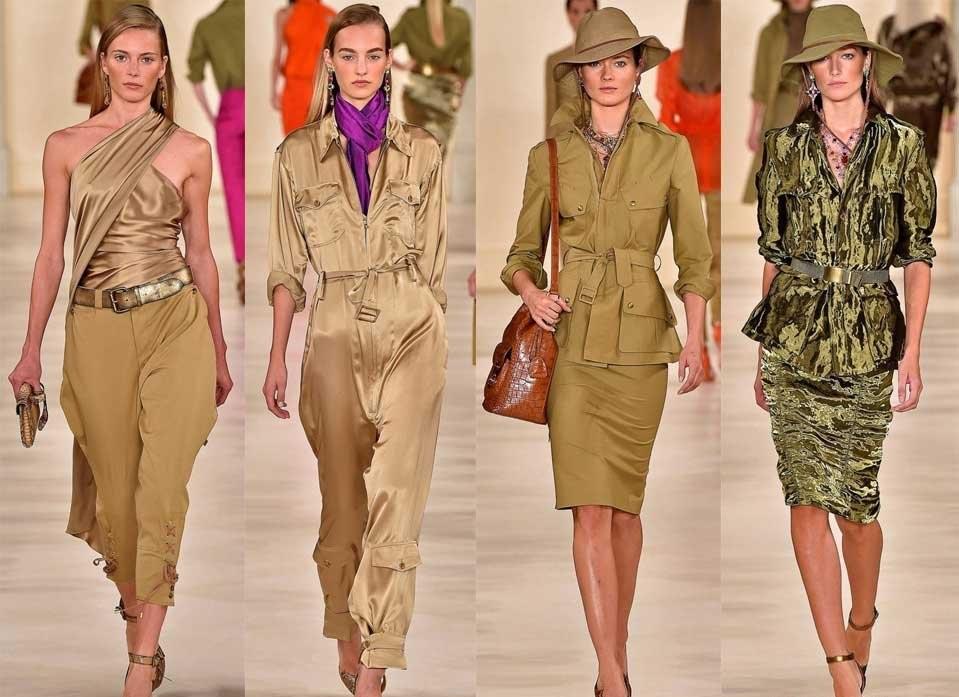 Одежда в стиле сафари довольно разнообразна.