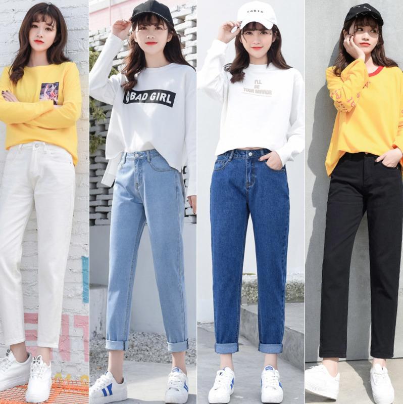 Цветовая палитра джинсов очень разнообразна.