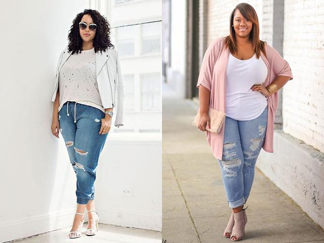 Правильно подобранные джинсы не привлекают внимание к проблемным зонам.