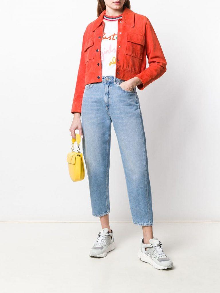 Так выглядят джинсы-бойфренды