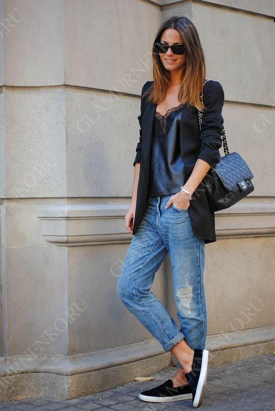 Как выбрать джинсы бойфренды?