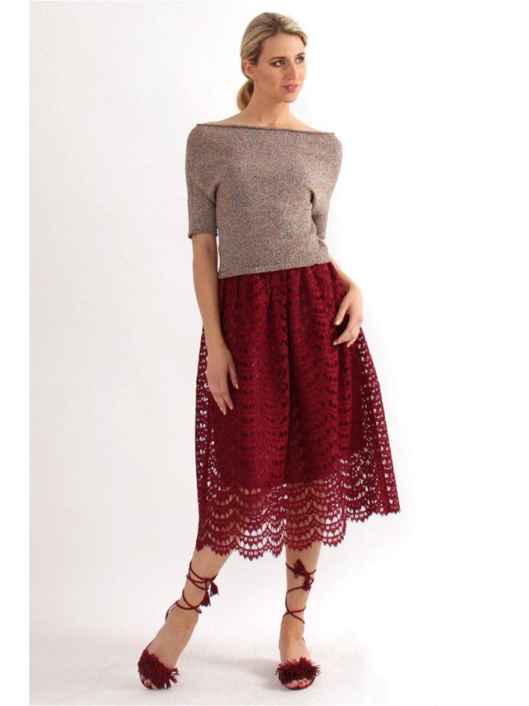 Кружевная юбка солнце представлена во всем многообразии цветов
