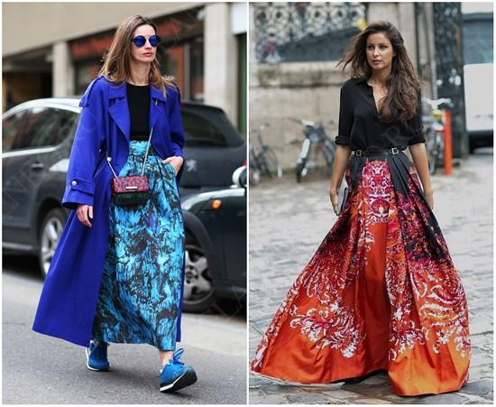 пример юбки-солнце макси