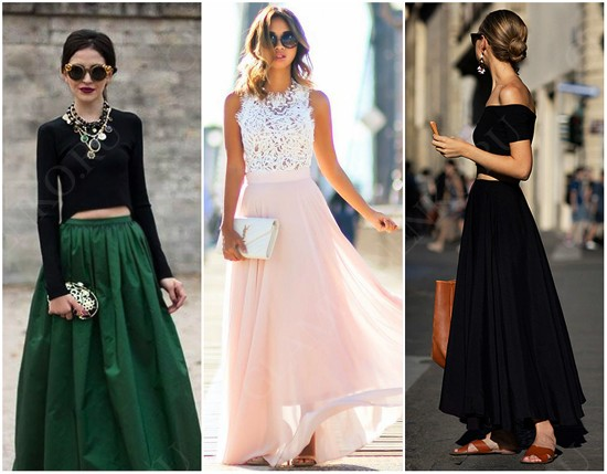 пример юбки солнце на блогерах
