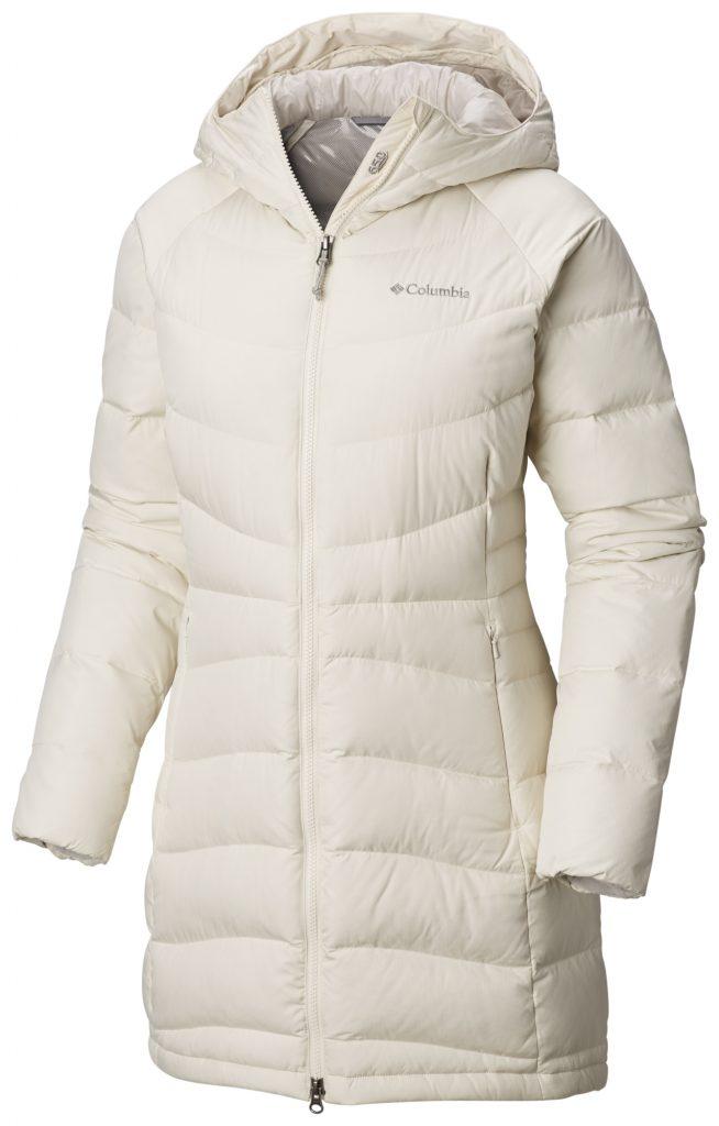 Пальто на меху Columbia белого цвета – лучший выбор для ценительниц качества и элегантности