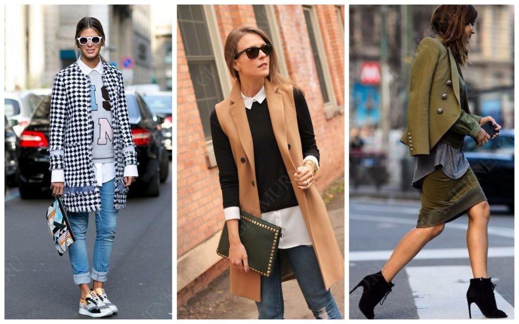 Примеры многослойности в одежде