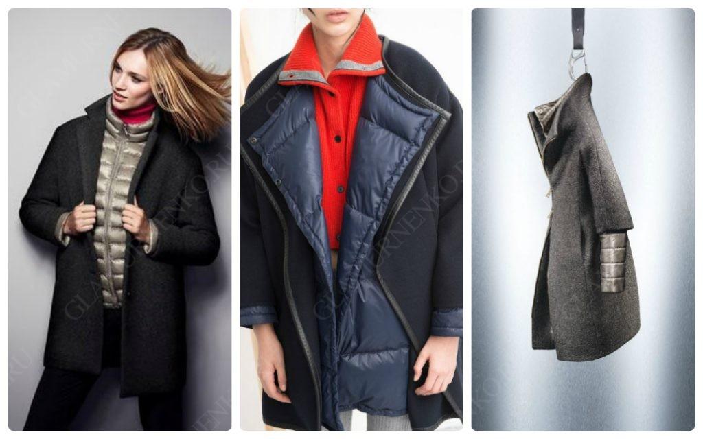Можно одевать пуховик под пальто?