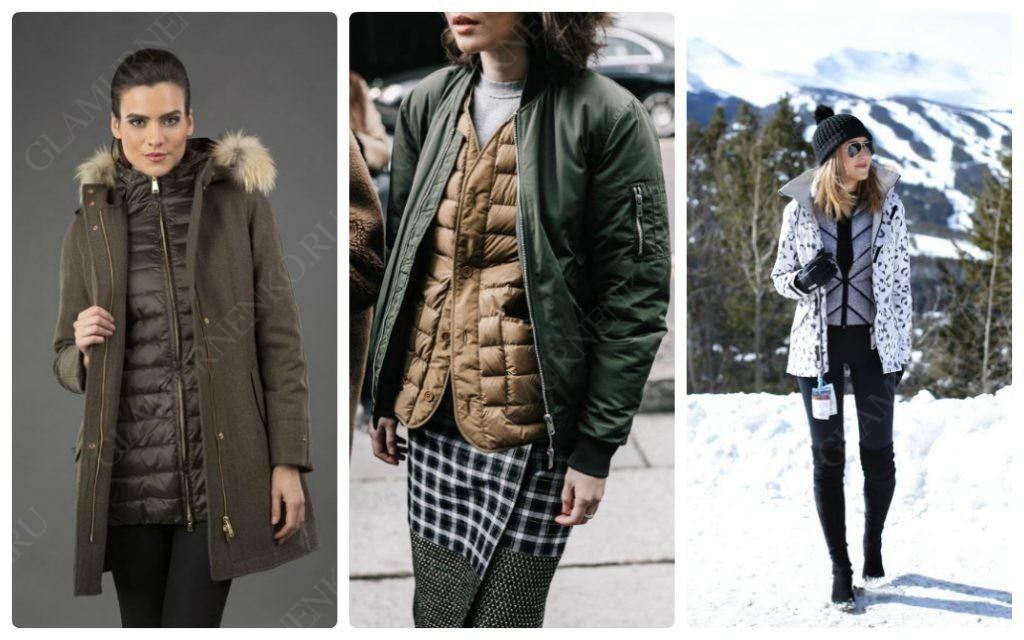 Фотографии девушек в пуховиках надетых под куртку