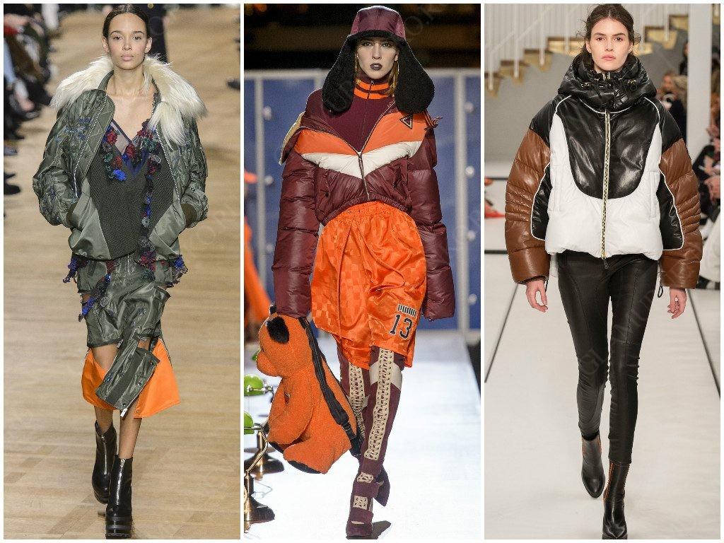 Мода с элементами спортивной одежды от Sacai, Fenty x Puma, Tod's