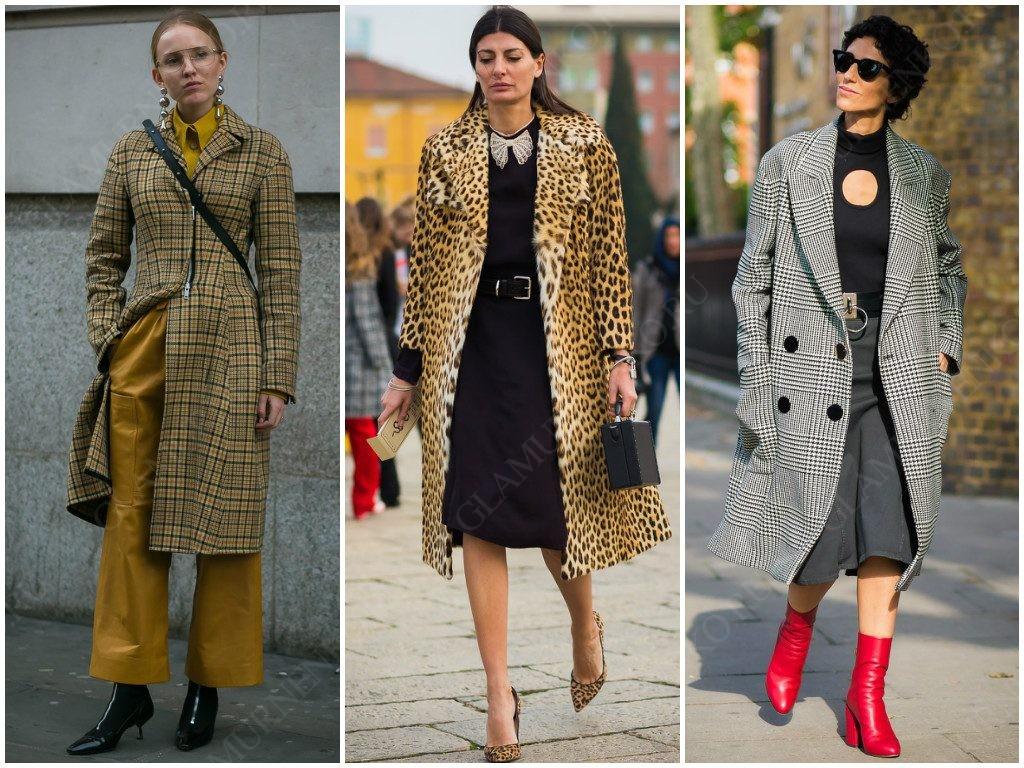 Каким бывает пальто средней длины?