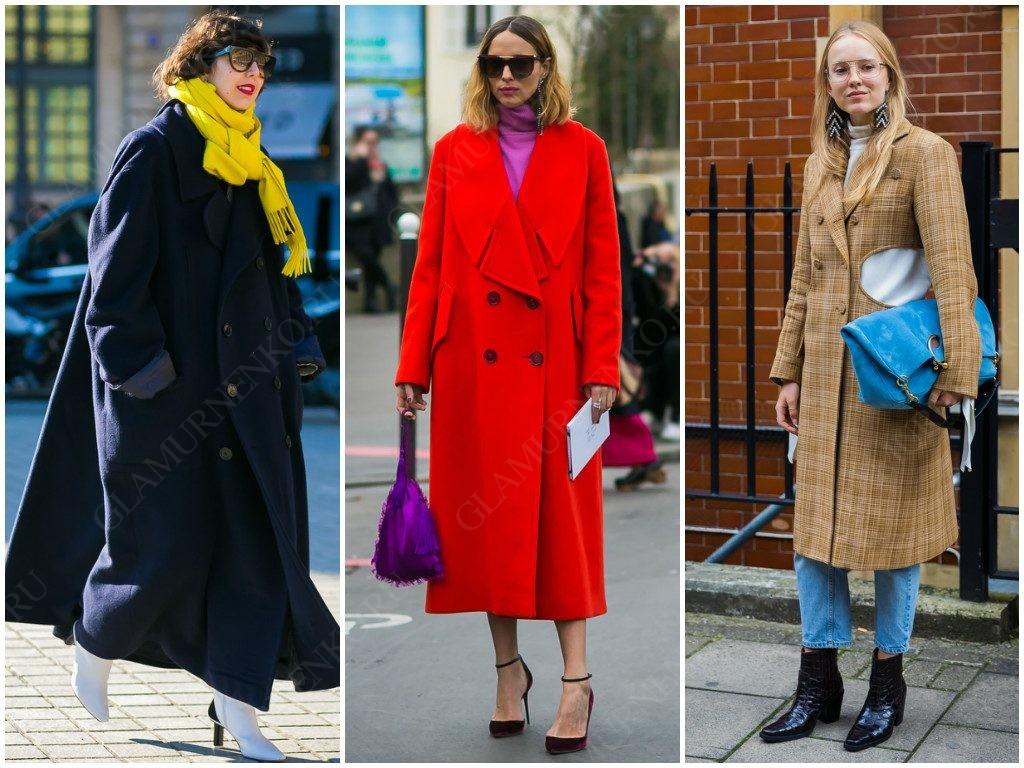 Подходящие двубортные пальто уличной моды.