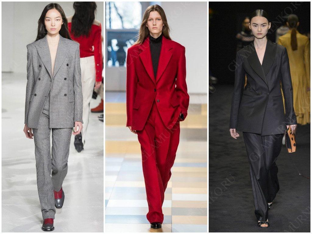 Деловой стиль от Calvin Klein, Jil Sander, Loewe