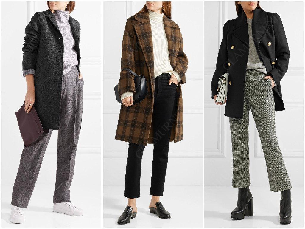 Короткое пальто для современных женщин