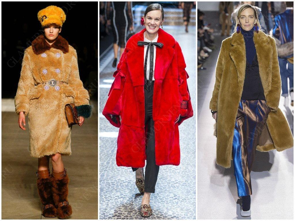 Натуральный и искусственный мех в тредах Miu Miu, Dolce & Gabbana, Dries Van Noten