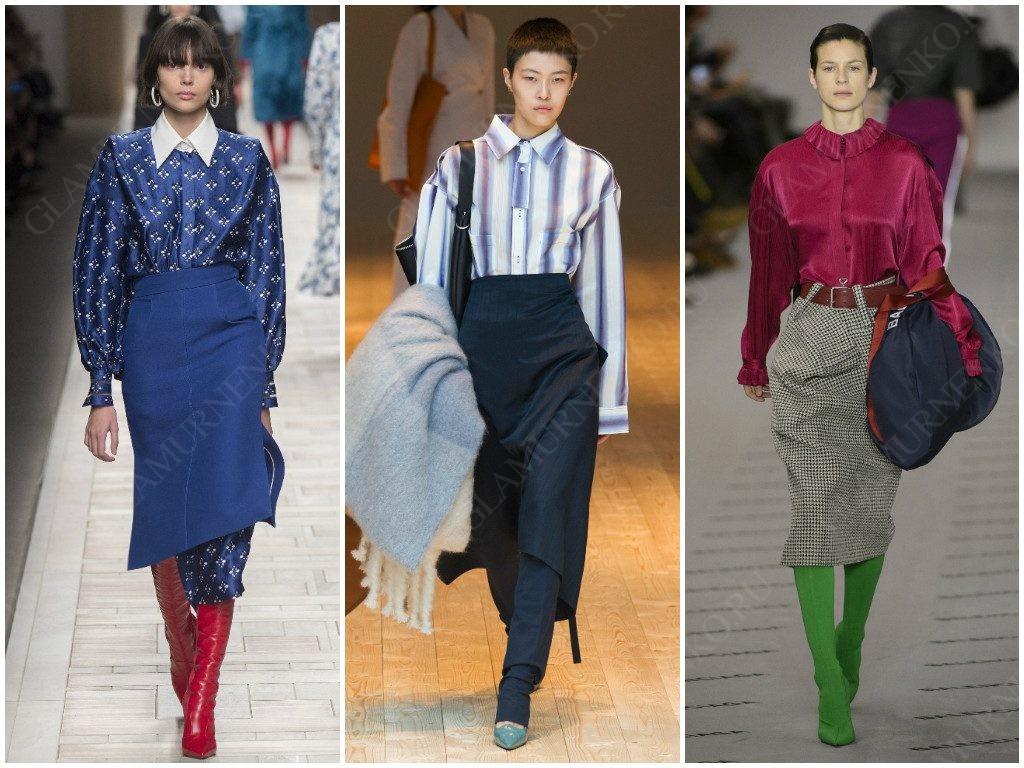 Варианты делового стиля от Fendi, Céline, Balenciaga