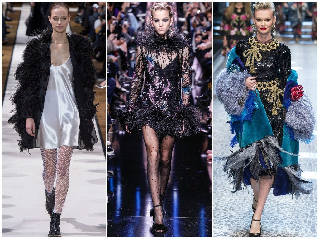 Lanvin, Elie Saab, Dolce & Gabbana