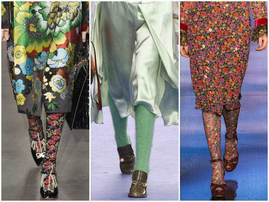 Gucci, Mulberry, Anna Sui