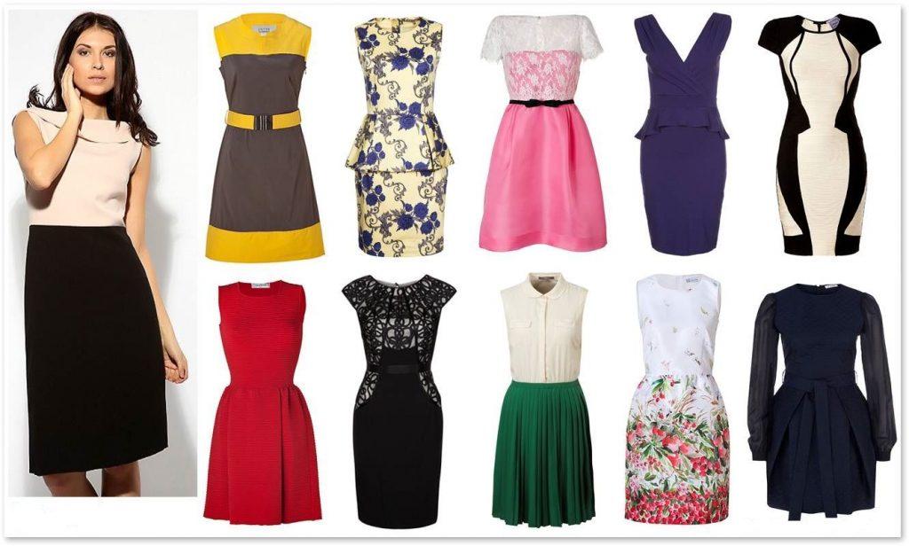 Обладательницы модельного Н-силуэта могут позволить себе практически все фасоны одежды