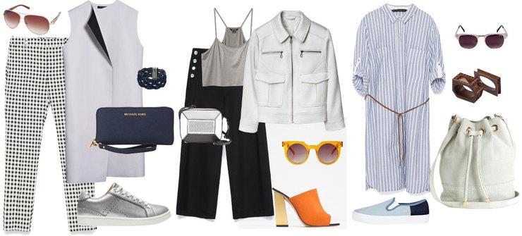 Классические брюки и капри – хороший выбор для женщин с фигурой типа «прямоугольник»
