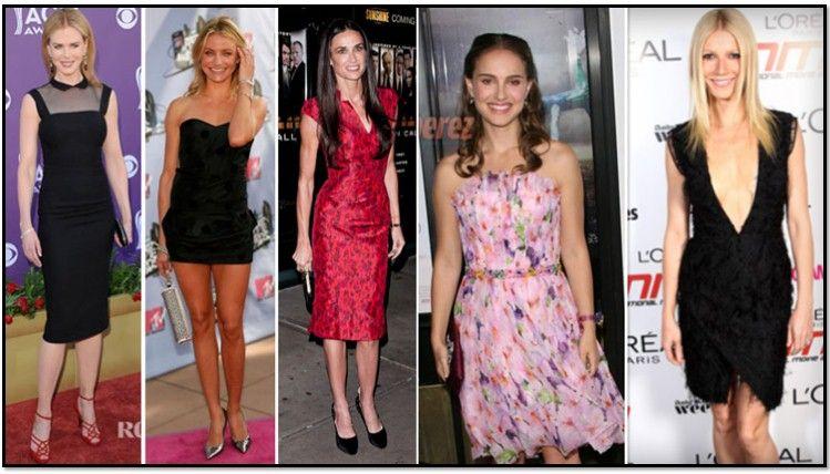Николь Кидман, Кэмерон Диаз и еще многие актрисы могут похвастаться модельной фигурой «прямоугольник»