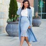 Четыре основные длины юбки: короткая, до колена или чуть ниже, до середины икры и в пол.
