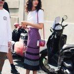 Примеры сочетаний с юбкой миди от блогеров и моделей со всего мира.