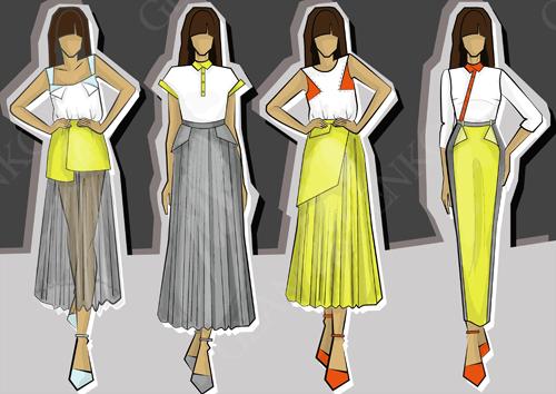 Иллюстрации на тему разнообразия стилистических направлений.