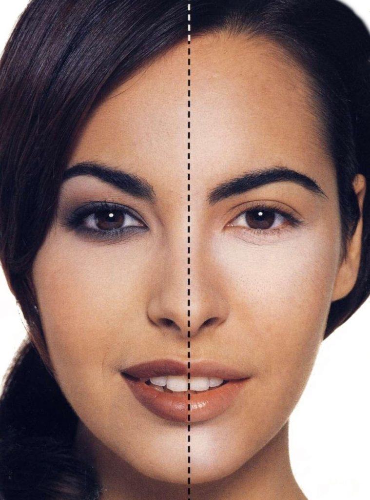Яркий макияж глаз – лучший выбор для женщин с овальным типом лица