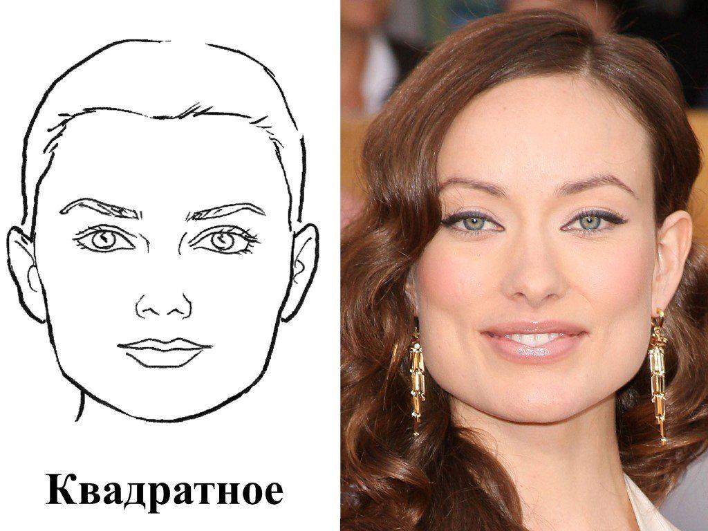 Квадратное лицо у женщин выглядит мощно и в то же время очень сексуально